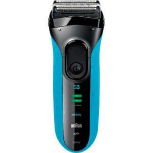 Braun Electric Shaver - Blue and Black